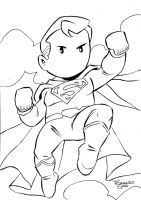 Superman Scribblenauts by sapienstoonz