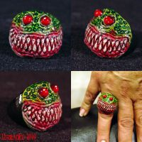Rot Ring  The Creature ooak by Undead-Art
