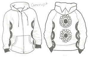 Camerupt Hoodie by LordoftheFuzzys