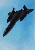 SR 71 Blackbird by Ali-Radicali