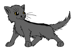 Graystripe by WarriorandSeeker