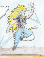 Rezel Super Saiyan 3 by TempestVortex