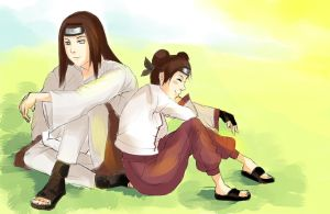 Sitting With Neji by Luisabel123
