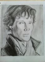 Benedict Cumberbatch by alex-connolly