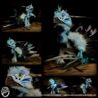 Handmade OOAK Fantasy Azure Gryphon by SonsationalCreations