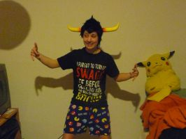 Tavros Swag Cosplay by Fortheheckofit1