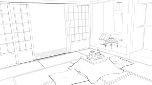 STOCK - Japanese Room 2 by Kaoyux