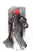 Red Skull Final by Darebegins