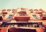 House in retro tones by croicroga