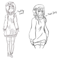 .: 2009 vs 2014 :. by CandleGlass
