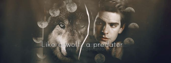 Like a wolf, a predator | Andrew Garfield by 0nlyFame