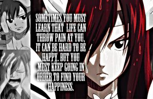 Erza, You Must by Xela-scarlet