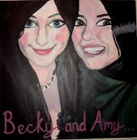 Becky and Amy by bec1989