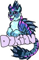 [COMMISSION] Dorian Badge by CassMutt
