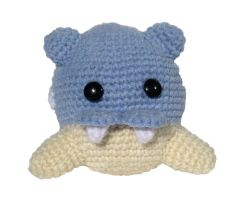 Pokemon Crochet: Spheal by kerryroulston