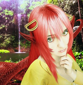 Monster Musume - Miia by SovietMentality