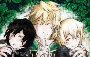 Pandora Hearts: Smile by ShiSeptiana