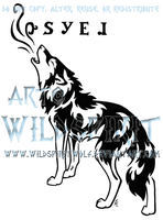 Howling Hope Tattoo - Cherokee by WildSpiritWolf