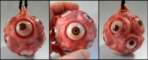 Ball of Eyes ornament by dogzillalives