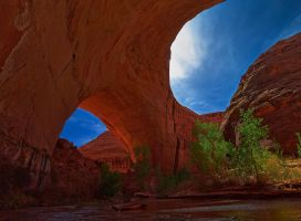 The Jacob Hamblin Arch by coulombic