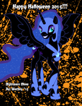 October Day 31 - Nightmare Moon by wachey