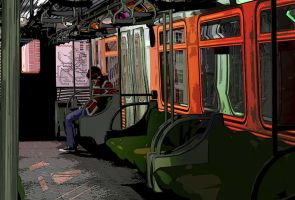to the end of the line by AN-Pseudonym