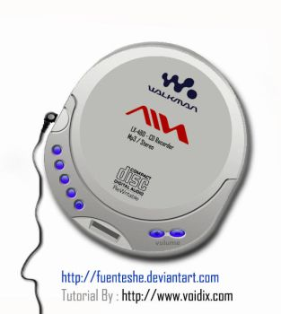 New Aiwa CD - player by fuenteshe