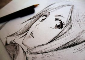 Hime ^_^ SKETCH by Iza-nagi