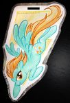 Lightning Dust Badge by SoulscapeCreatives