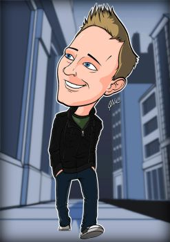 Sam - Caricature Time by ZoomToons