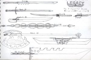 Legacy Sword Designs by CypherX667
