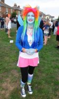 Equestria Girls  Rainbow Dash  cosplay by CannibalCupcakes