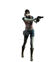 Claire Redfield - Professional Render by Allan-Valentine