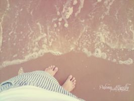 On The Beach by PMinelly