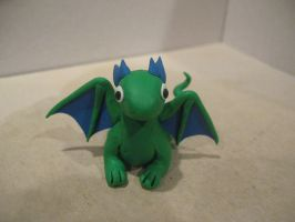 Blue and Green Dragon by drakeo1903