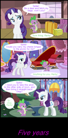 Rarity knows how to get what she wants by TheWholeBeehive