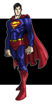 Superman Standing by theRedDeath888