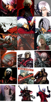 Dante All Appearances by ThatCharizardGuy