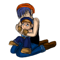 Art Trade: Scottie and Felix by Maygirl96