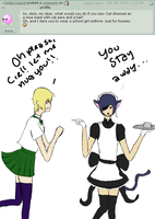 Maid Ciel vs School Girl Alois by AskLordAloisTrancy