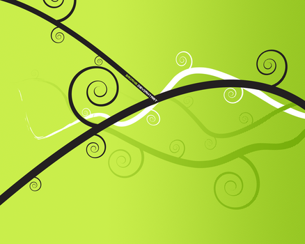 green vector wall 1280x1024 by brianb