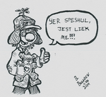 11-25-14 - [doodle] - Jefro thinks you're Special by BellCountyComics