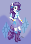 Toupony - Rarity by Cazra