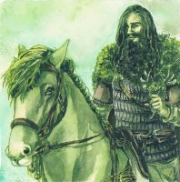 The Green Knight by Toradh