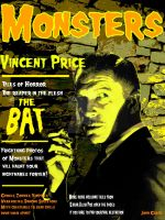 Monster magazine Vincent Price by 1JohnGarciaArtDesign