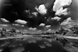 horizon BnW by towhidabid
