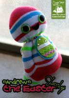 Andrew the Easter Slouchy by cleody