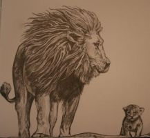 The Lion King by SuzanneHole