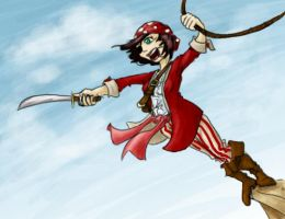 Swashbuckle fun by Horuni