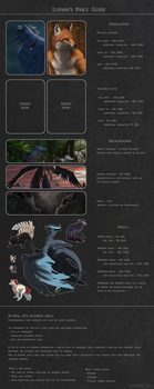 Commission price guide by Luphin
